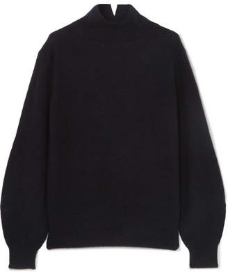 Vince Bishop Cashmere Turtleneck Sweater - Navy