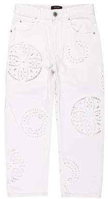 Etoile Isabel Marant High-Rise Straight-Leg Jeans w/ Tags