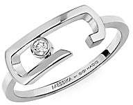 Messika By Gigi Hadid Move Addiction 18K White Gold & Diamond Ring