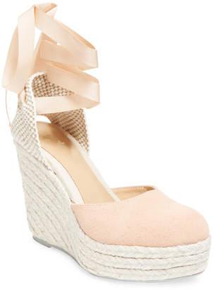 Manebi Wedge Leather Sandal