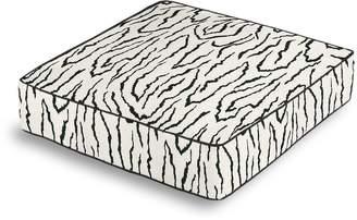 Loom Decor Box Floor Pillow Animal Instinct - Black