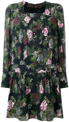 Anna Sui square neck shift dress