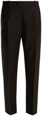 Jil Sander Enea wool and mohair-blend straight-leg trousers