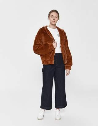 Farrow Zoe Faux Fur Hooded Jacket
