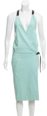 Proenza Schouler Sleeveless Leather Dress