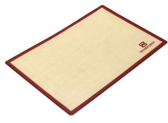 """Excellante 11 7/8"""" X 16 1/2"""" Rectangular Silicone Baking Mat, Fits 1/2 Sheet Pan, Comes In Each"""
