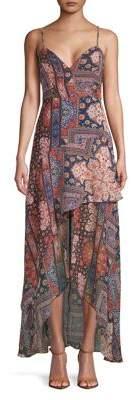 BCBGeneration High-Low Bazaar Maxi Dress