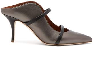 Malone Souliers Maureen metallic leather mules