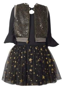 Iris & Ivy Little Girl's Laced Tutu Dress