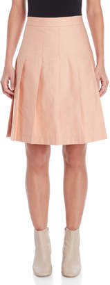 Marni Rose Pleated Skirt