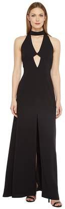 Jill Stuart 2-Ply Crepe Halter Cut Out Dress Women's Dress