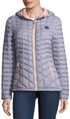 Reebok Woven Packable Lightweight Puffer Jacket