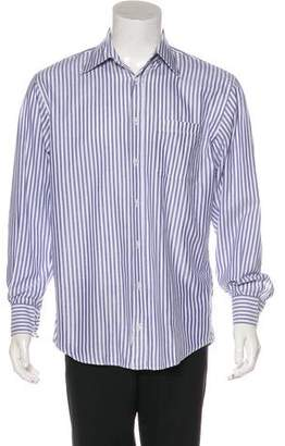 Luciano Barbera Striped Dress Shirt