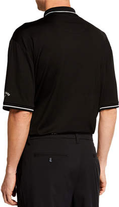 Callaway Men's Bicolor Jacquard Polo Shirt