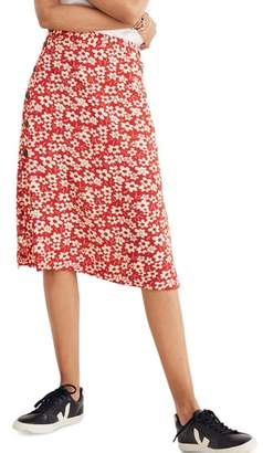 Madewell Side Button Skirt