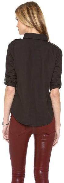 WGACA What Goes Around Comes Around Genesis Studded Shirt