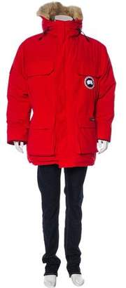 Canada Goose Fur-Trimmed Expedition Down Parka
