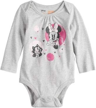Osh Kosh Disneyjumping Beans Disney's Minnie Mouse Baby Girls Softest Bodysuit by Disney/Jumping Beans