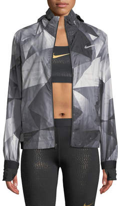 Nike Shield Flash Convertible Running Jacket