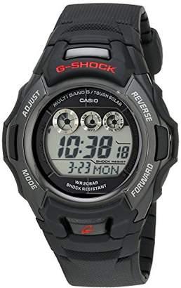 Casio G-Shock GWM530A-1 Men's Tough Solar Atomic Black Resin Sport Watch