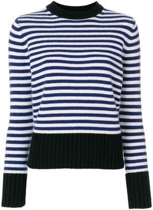 Max Mara striped knit sweater