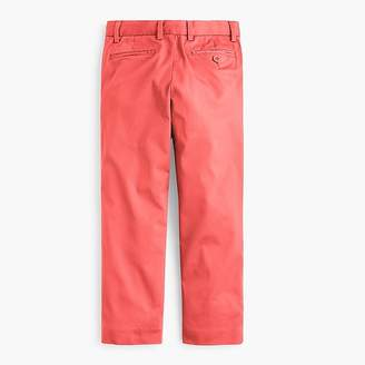 J.Crew Boys' lightweight stretch chino pant in slim fit