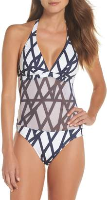 Vilebrequin Graphic Net One-Piece Swimsuit