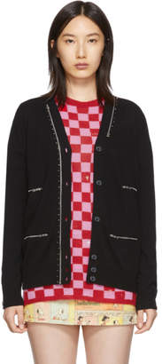 Marc Jacobs Black The Punk Cardigan