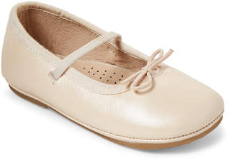 Old Soles Toddler Girls) Pearl Cruise Mary Jane Metallic Flats