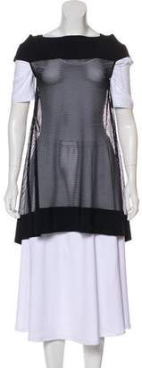 Chiara Boni Sleeveless Netted Cover-Up w/ Tags
