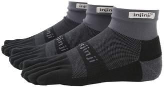 Coolmax Injinji Run Midweight Mini-Crew 3 Pair Pack Crew Cut Socks Shoes