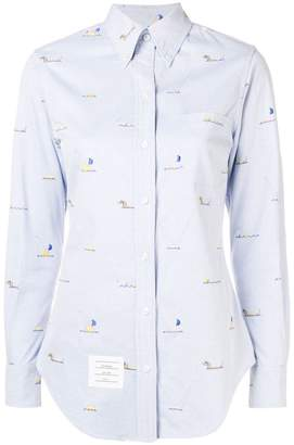 Thom Browne Synchronized Swimmer Oxford Shirt