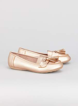 3fe4cde6b78 Womens Metallic Tassel Loafers - ShopStyle UK