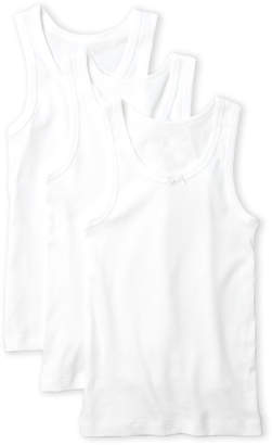 Rene Rofe Girls 4-6x) 3-Pack Tank Tops