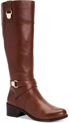 Giani Bernini Revaa Wide-Calf Riding Boots Women's Shoes