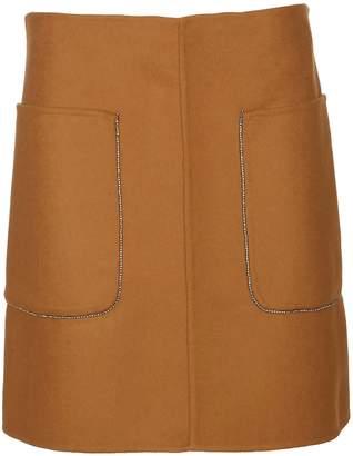 N°21 N.21 Patch Pocket Skirt