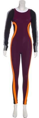 NO KA 'OI No Ka'oi Colorblock Long Sleeve Jumpsuit
