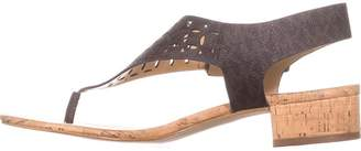MICHAEL Michael Kors Womens London Thong Leather Open Toe