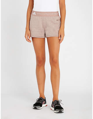 adidas by Stella McCartney Essentials relaxed-fit cotton-blend shorts