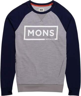 Mons Royale Tech Sweat Border Shirt - Men's