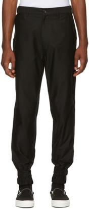 Comme des Garcons Homme Black Moleskin Trousers