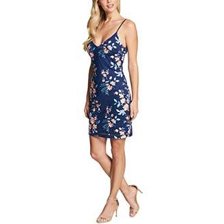GUESS Women's Embroidered MESH Dress