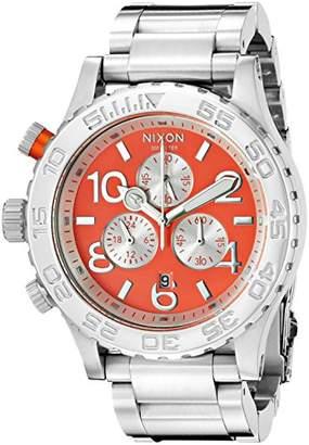Nixon Men's A0372054 42-20 Chrono Analog Display Analog Quartz Watch