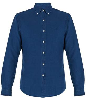 Polo Ralph Lauren Slim Fit Cotton Poplin Shirt - Mens - Indigo