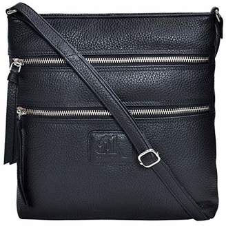 Leather Crossbody Purse for women- Crossover cross body over the shoulder bag luxury purses womens
