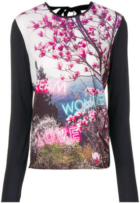 Paul Smith printed longsleeved T-shirt