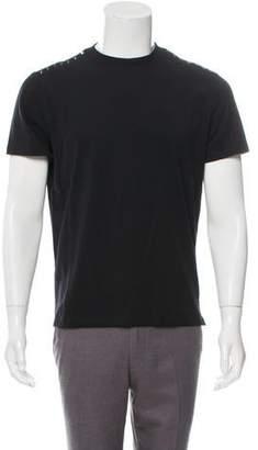 Valentino Short Sleeve Rockstud-Embellished T-Shirt