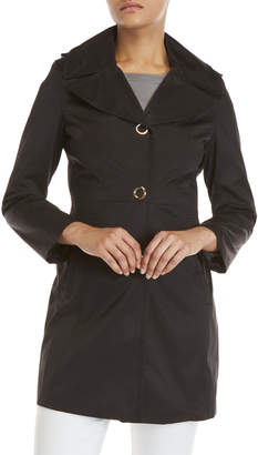 Anne Klein Hooded Trench Coat