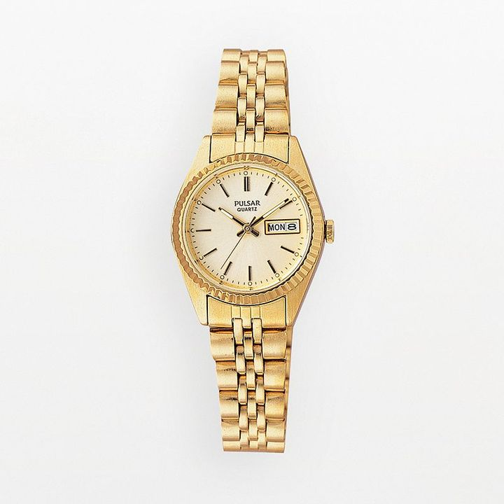 Pulsar® gold watch