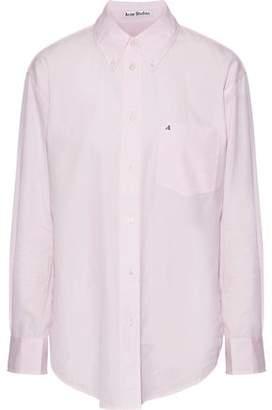Acne Studios Beatrix Embroidered Cotton-Poplin Shirt